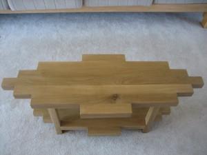 White-oak coffee table