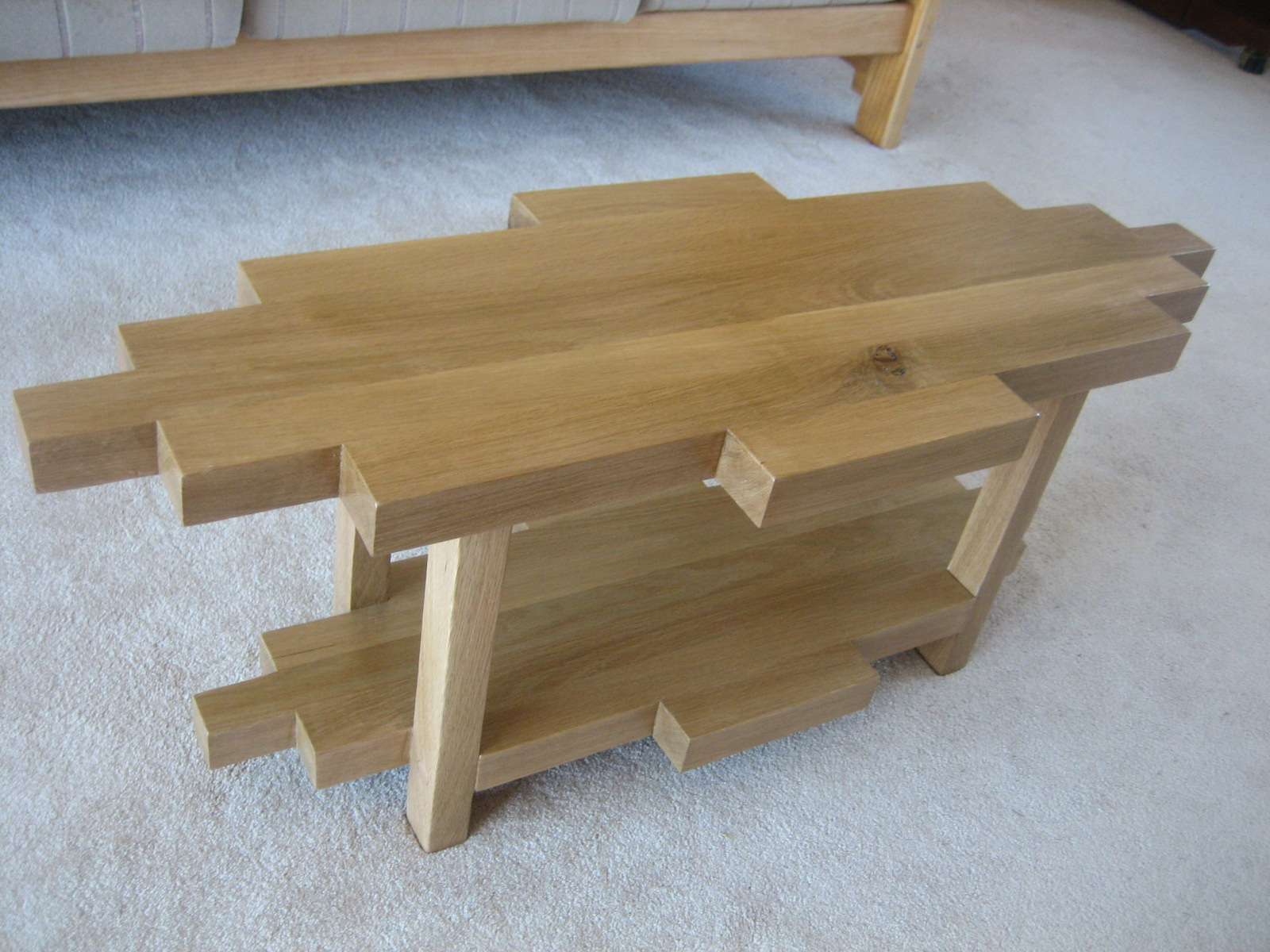 Coffee Table Side View
