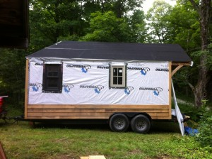 Profile of tiny home.